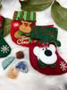 Crystal Christmas Stocking