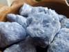 Blue Calcite Chunk