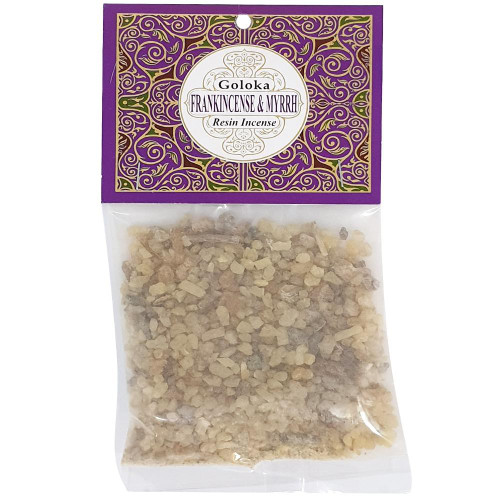 Goloka Resin - Frankincense and myrrh