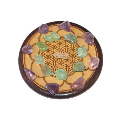 Healing Crystal Grid