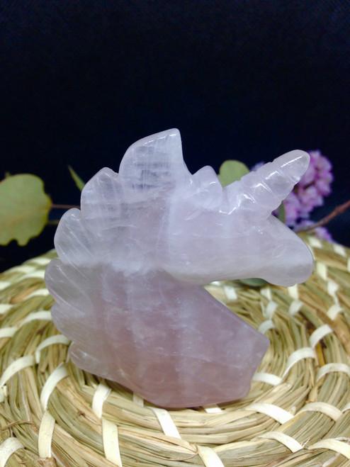 Rose quartz Unicorn
