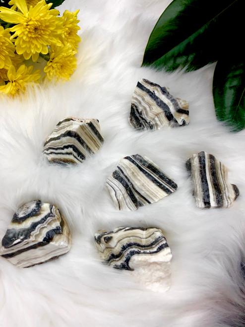 Zebra Calcite medium