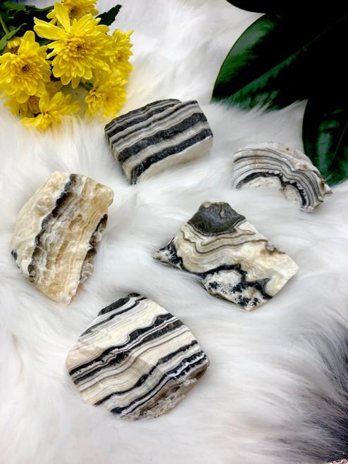 Zebra Calcite Large