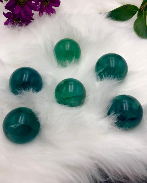 Fluorite Spheres - small
