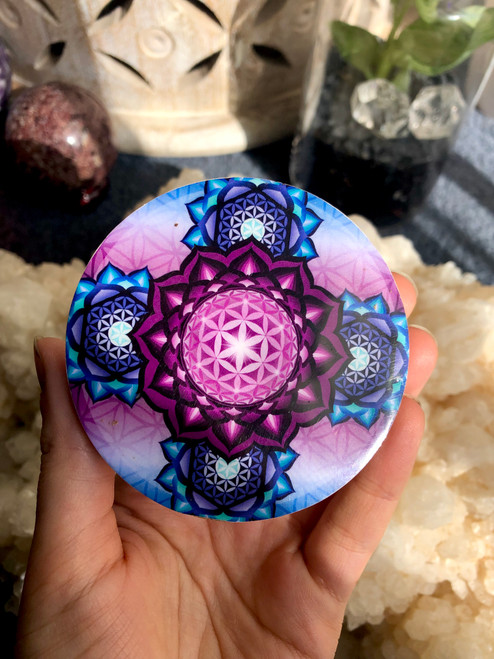 flower of life disc