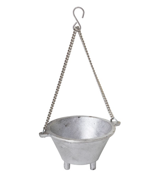 hanging cauldron