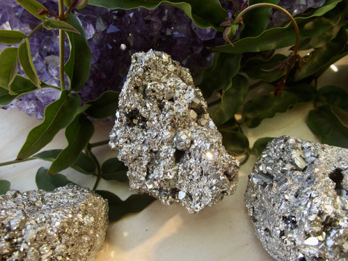 Sparkly Pyrite Cluster