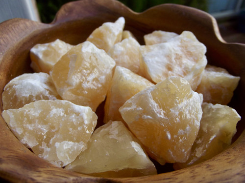 Orange Calcite Chunk