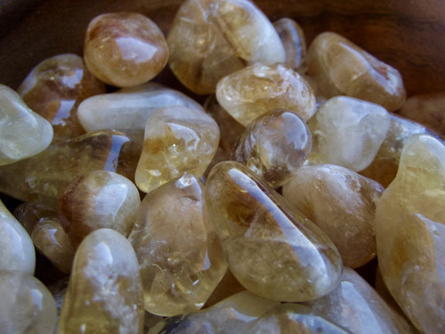 Citrine Tumbled Stone small