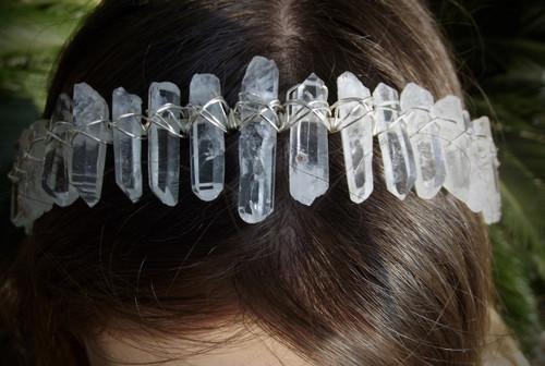 Serenity - Clear Quartz Headband
