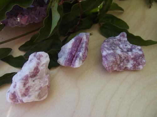 Pink tourmaline chunk - small
