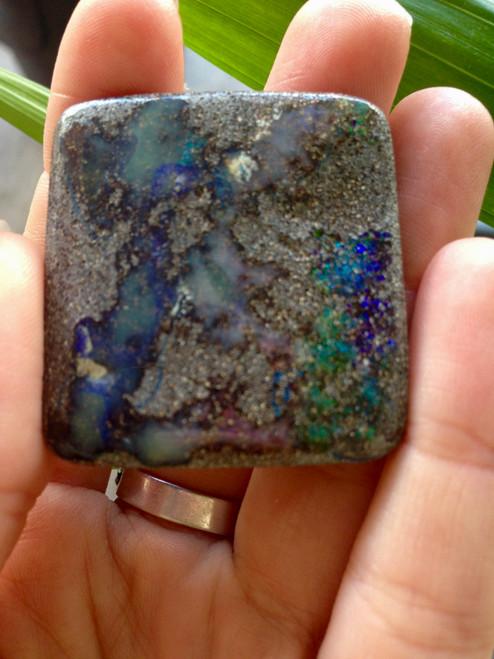 Queensland Boulder Opal - Specimen pocket stone 8