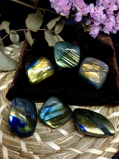 A grade Labradorite Tumbled stone