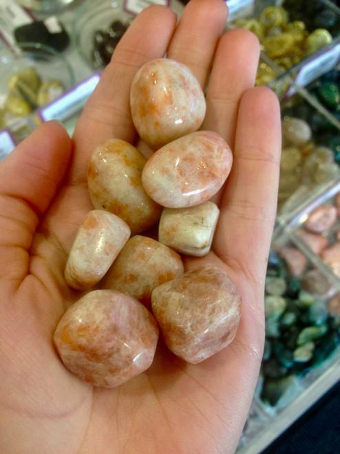 Sunstone Tumbled Stone