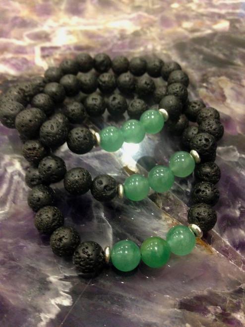 Essential Oil - Green aventurine Bracelet