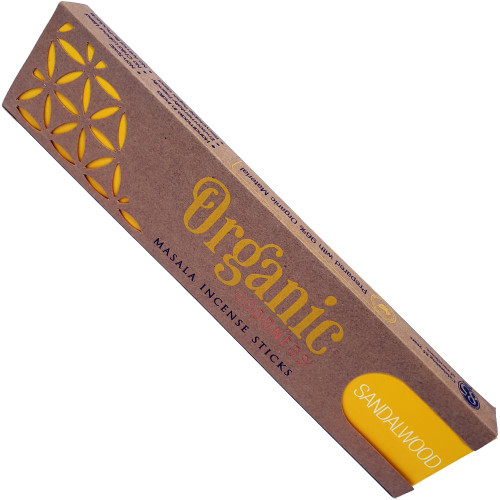 Organic Goodness incense - sandalwood
