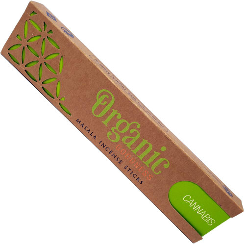 Organic Goodness incense - Cannabis