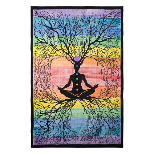 Wall Tapestry - Meditation Tree