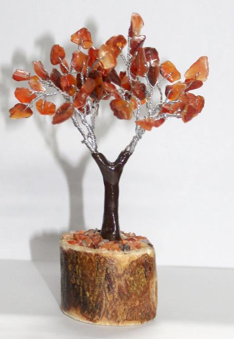 Carnelian Crystal Tree