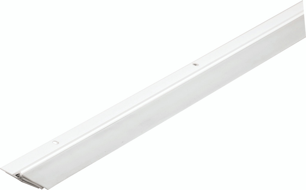 "Triple-Seal Door Seal - White Door Sweep 2.125"" x 36"" Full Cases of 50"
