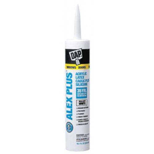 DAP® Alex Plus® Caulk - Clear: Priced per item