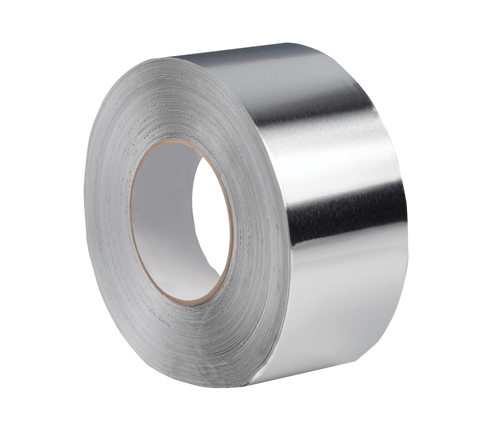 "3"" Aluminum Foil Tape: Priced per case of 16"
