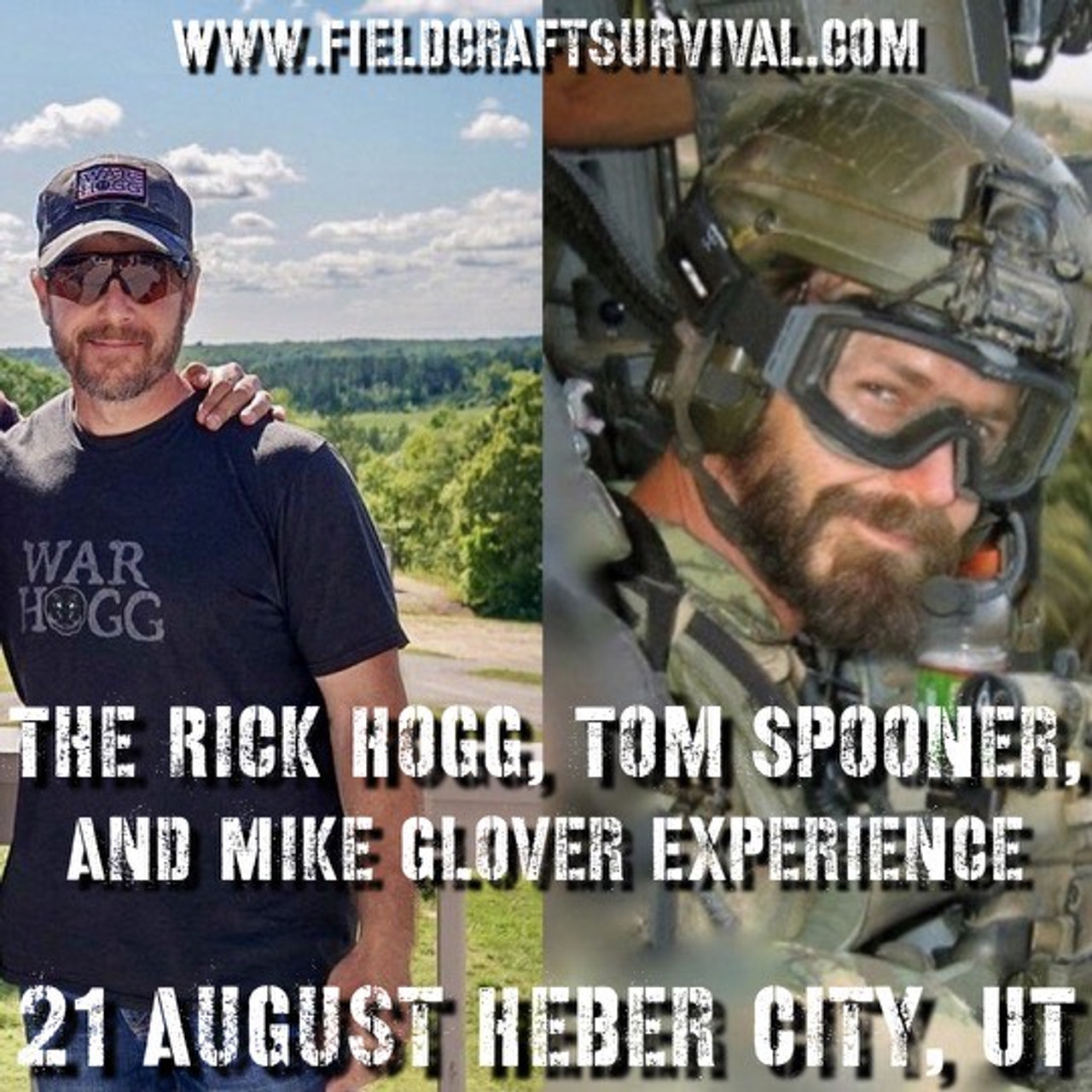 The Rick Hogg, Tom Spooner, and Mike Glover Experience: 21 August 2021 (Heber City, UT (HQ))
