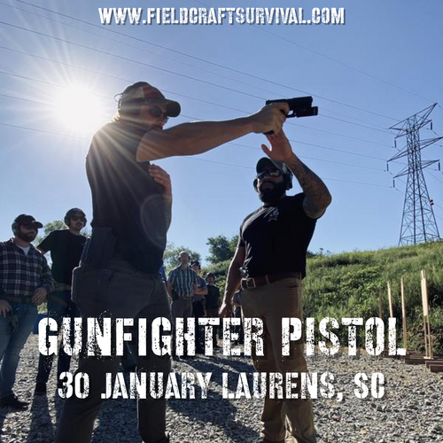 Gun Fighter Pistol Course Level 1: 30 January 2021 (Laurens, SC)