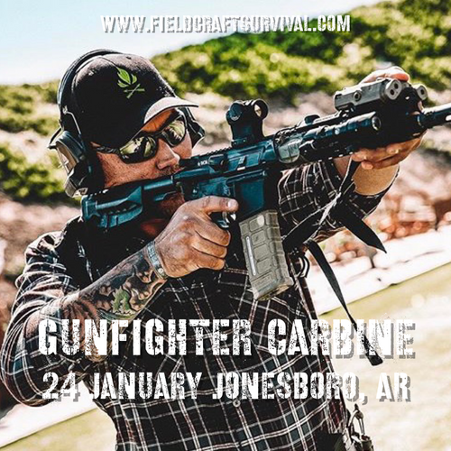 Gun Fighter Carbine Course Level 1: 24 January 2021 (Jonesboro, AR)
