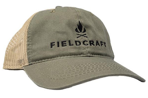 Fieldcraft Survival Shooter Hat (OD green/Tan)
