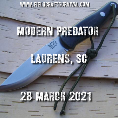 Modern Predator with Kevin Estela- 28 March 2021 ( Laurens,SC)
