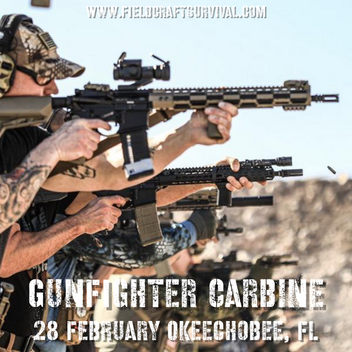Gun Fighter Carbine Course Level 1: 28 February 2021 (Okeechobee, FL)