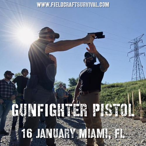 Gun Fighter Pistol Course Level 1: 16 January 2021 (Miami, FL)