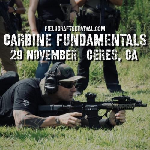 Carbine Fundamentals Course, 29 November 2020 (Ceres, CA)
