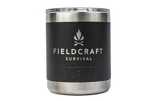 Fieldcraft Survival YETI 10oz Rambler Cup
