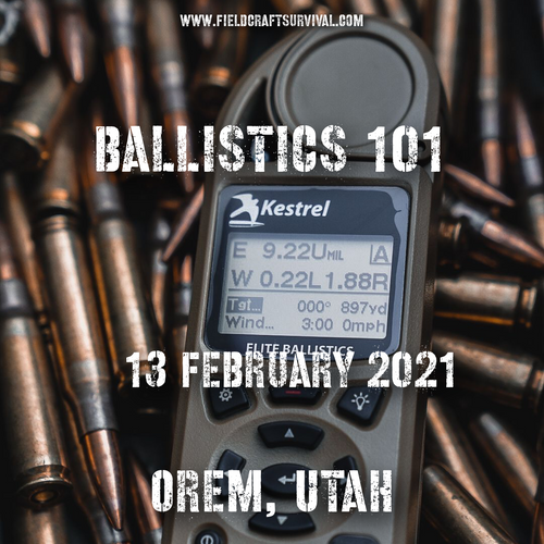 Ballistics 101 with Kevin Owens, 13 February 2021 (Orem,Utah)