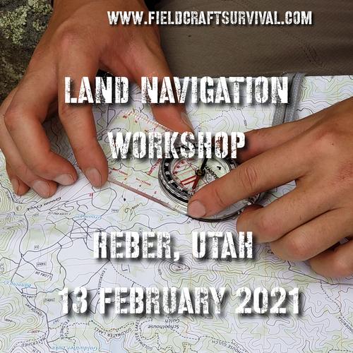 Land Navigation Workshop level one- 13 February 2021 (Heber, Utah)