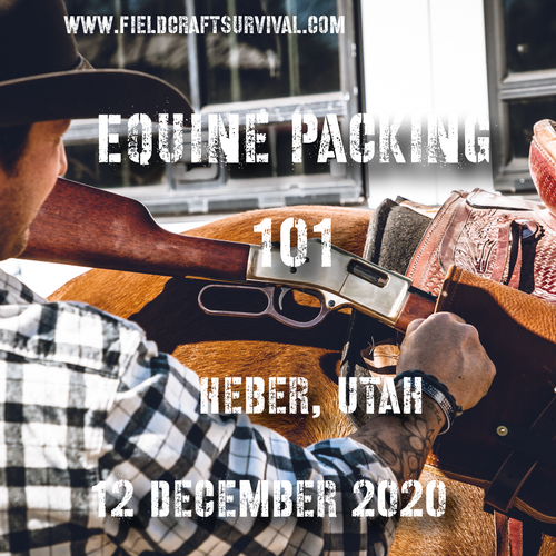 Equine Packing 101- 12 December 2020 ( Heber, Utah )