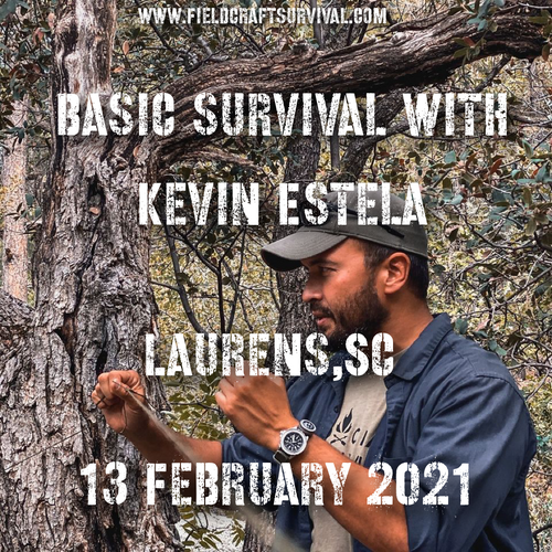 Basic Survival Skills Class 13 February 2021 (Laurens SC)