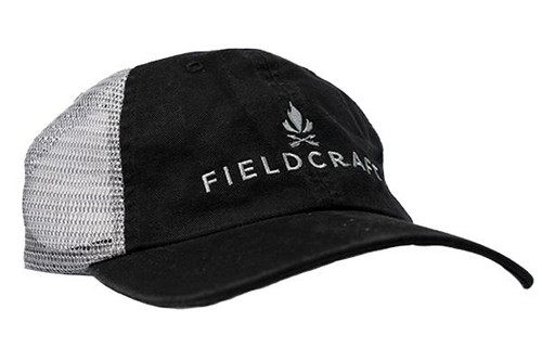Fieldcraft Survival Pre-Washed Shooter Hat (Black)