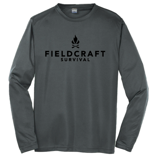 Fieldcraft Survival Long Sleeve Tee- Iron Grey