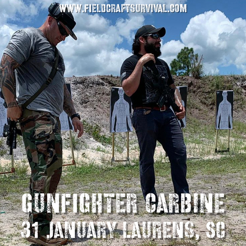 Gun Fighter Carbine Course Level 1: 31 January 2021 (Laurens, SC)