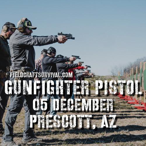 Gun Fighter Pistol Course Level 1, 5 December 2020 (Prescott, AZ)
