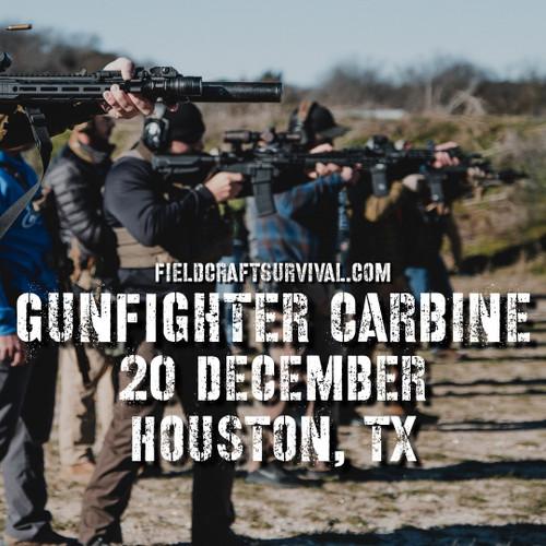 Gun Fighter Carbine Course Level 1, 20 December 2020 (Houston, TX)