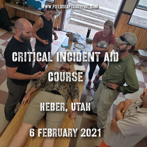 Critical Incident Aid Course 6 February 2021 (Heber, Utah )