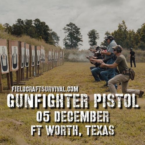 Gun Fighter Pistol Course Level 1, 05 December 2020 (Fort Worth, TX)