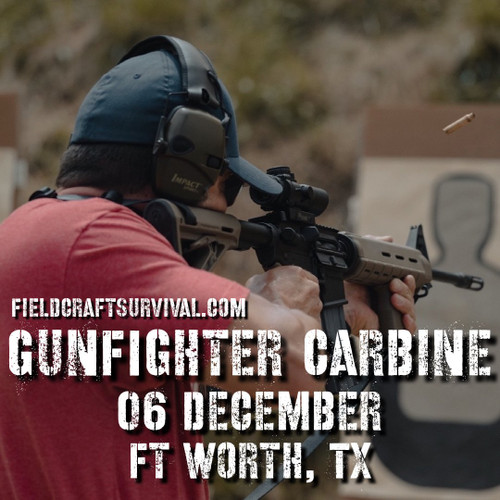 Gun Fighter Carbine Course Level 1, 06 December 2020 (Fort Worth, TX)