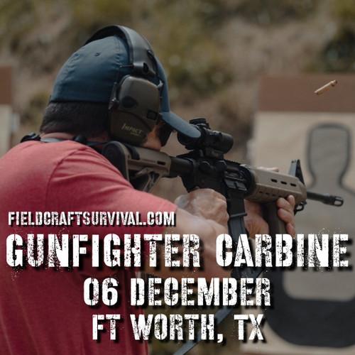 Gun Fighter Carbine Course Level 1, 06 December 2020 (Fort Worth, TX)