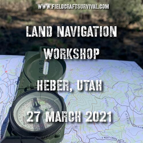 Land Navigation Workshop level one- 27 March 2021 (Heber, Utah)