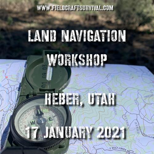 Land Navigation Workshop level one- 17 January 2021 (Heber, Utah)